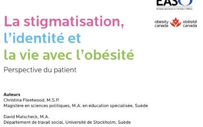 La stigmatisation, l'identité et la vie avec l'obésité