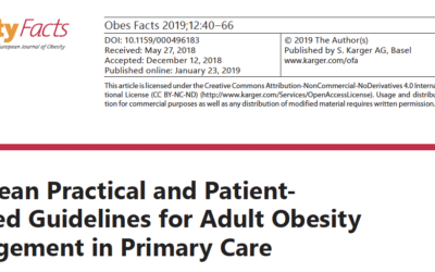 Guidelines for adult obesity management