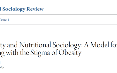Obesity and Nutritional Sociology